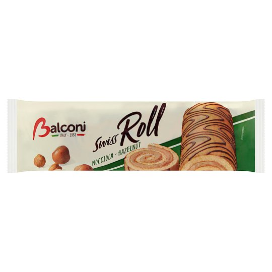 Balconi Roll with Hazelnut Filling 250 g