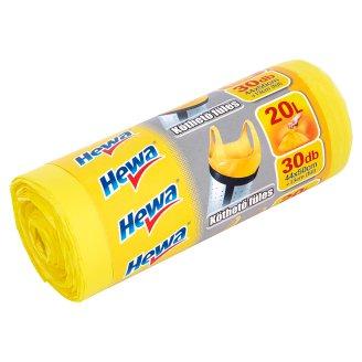 Hewa Flap Tie Bin Liners 20 l 30 pcs