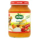 Ovko Gluten- and Dairy-Free Vegetables with Chicken Food for Babies 5+ Months 190 g