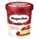 Häagen-Dazs Cottage Cheese Cake Flavoured Ice Cream with Strawberry Dressing and Cookies 500 ml