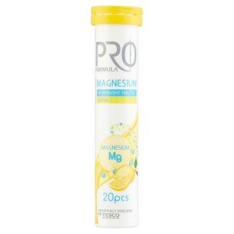 Tesco Pro Formula Magnesium citromízű étrend-kiegészítő pezsgőtabletta 20 db 80 g