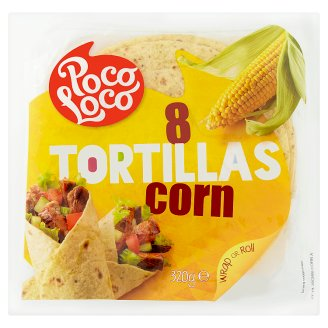 Poco Loco Corn Tortillas 8 pcs 320 g