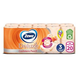 Zewa Deluxe Cashmere Peach 3 rétegű toalettpapír 20 tekercs