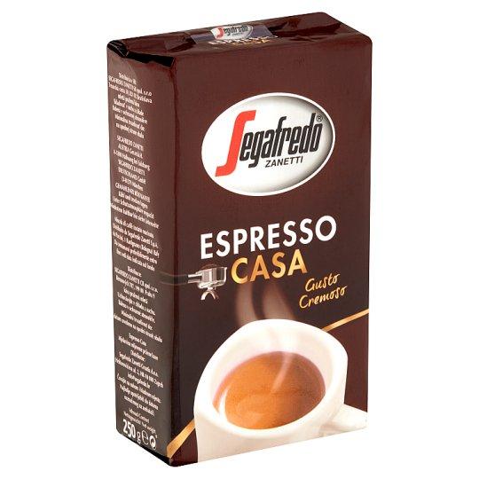 Segafredo Zanetti Espresso Casa Gusto Cremoso Roasted Ground Coffee 250 g
