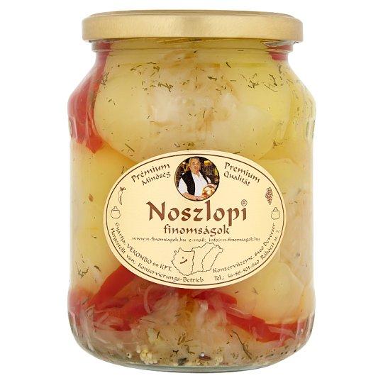 "Noszlopi Finomságok ""Nagypapa"" Apple Pepper Filled with Brine Cabbage in Vinegar 690 g"