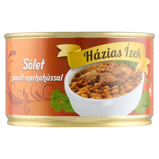 Házias Ízek sólet pácolt marhahússal 400 g