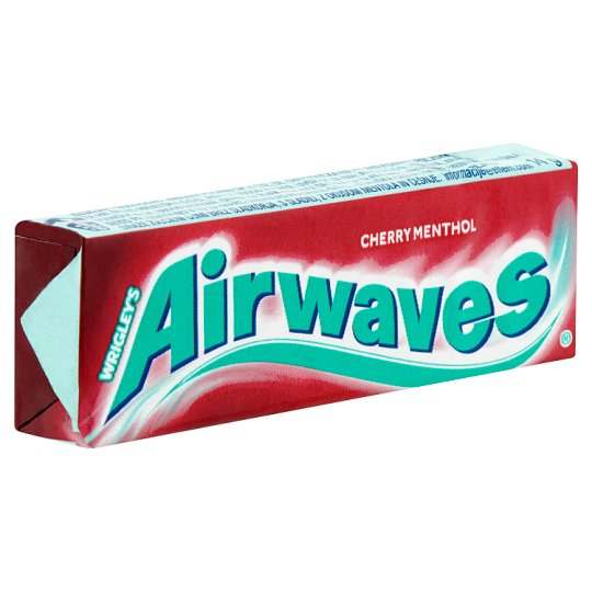 Airwaves Mint-Cherry Sugar-Free Chewing Gum with Sweeteners 10 pcs 14 g