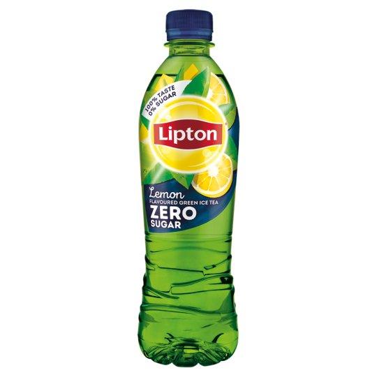 Lipton Green Ice Tea Zero energiamentes citrom ízű szénsavmentes üdítőital édesítőszerekkel 500 ml