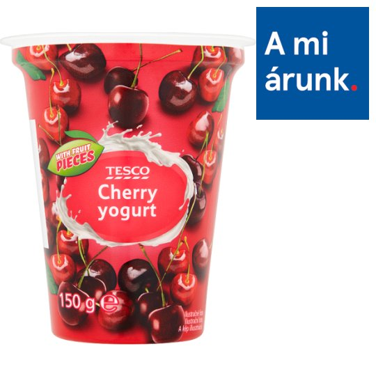 Tesco Cherry Yogurt 150 g