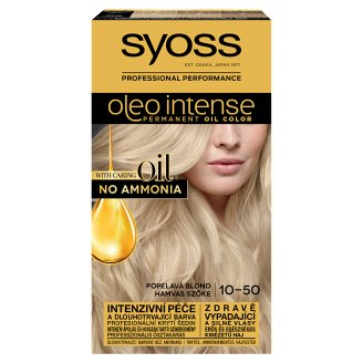 Syoss Color Oleo Intense Oil Hair Colorant 10-50 Light Blonde