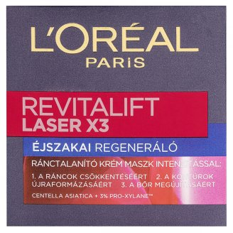 L'Oréal Paris Revitalift Laser X3 Regenerating Anti-Ageing Night Cream 50 ml