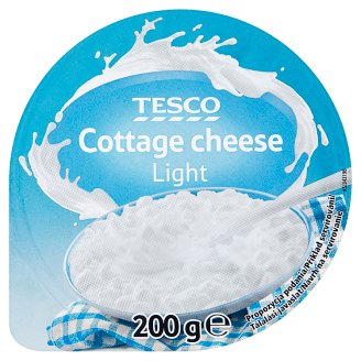 Tesco Light Cottage Cheese 200 g
