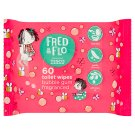 Fred & Flo Bubble Gum Fragranced Toilet Wipes 60 pcs