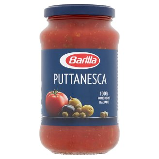 Barilla Puttanesca Tomato Sauce with Olives and Capers 400 g