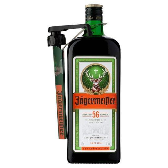 Jägermeister gyógynövény likőr 35% 1,75 l