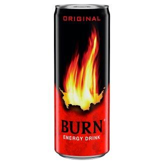 Burn Original szénsavas vegyesgyümölcs ízű ital koffeinnel 250 ml