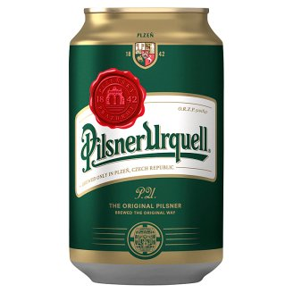 Pilsner Urquell Quality Lager Beer 4,4% 0,33 l