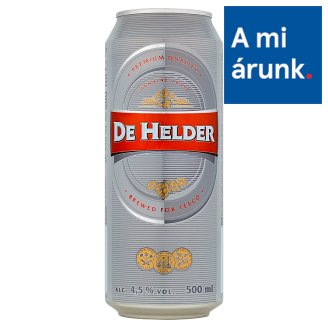 De Helder Lager Beer 4,5% 500 ml