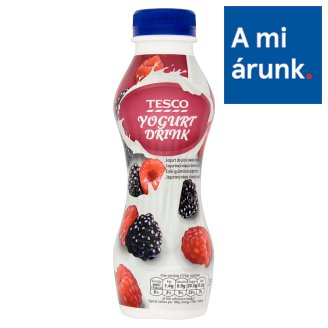 Tesco Low-Fat Yogurt Drink with Forest Fruits 350 g