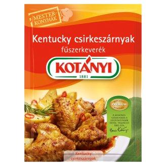 Kotányi Mesterkonyhák Kentucky csirkeszárnyak fűszerkeverék 45 g
