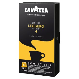 Lavazza Leggero Ground Roasted Coffee Capsules 10 pcs 55 g