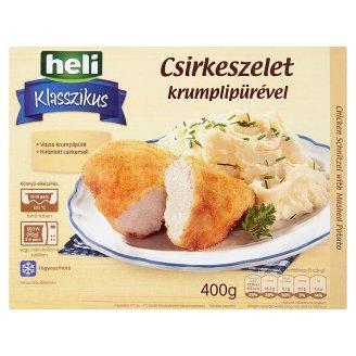 Heli Klasszikus csirkeszelet krumplipürével 400 g