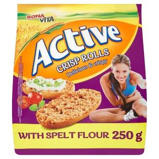 Bonavita Active Crisp Rolls with Spelt Flour 250 g