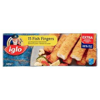 Iglo Quick-Frozen Fish Fingers 15 pcs 420 g