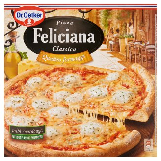 Dr. Oetker Feliciana Quick-Frozen Pizza with Four Cheese 325 g