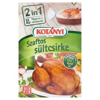 Kotányi 2 in 1 szaftos sültcsirke fűszersó + XL sütőzacskó 25 g
