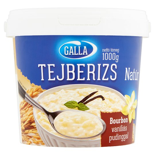 Galla Unflavoured Rice Pudding 1000 g