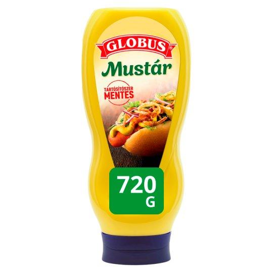 Globus mustár 720 g