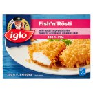 Iglo Fish'n'Rösti Fish Filet in Crispy Potato Pastry Coat 250 g