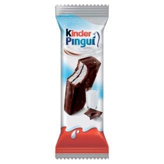 Kinder Pingui Choco Milk Cream Filled Cake with Dark Chocolate Coating 30 g