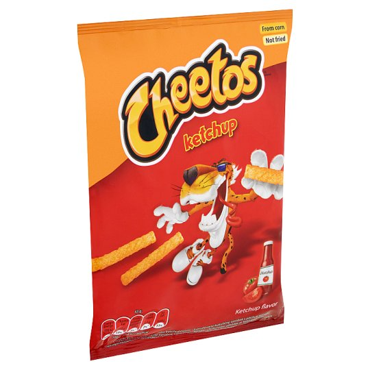 Cheetos ketchup ízesítésű kukoricasnack 43 g