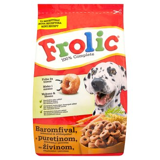 Frolic Complete Food For Adult Dogs with Poultry, Vegetables and Cereals 500 g
