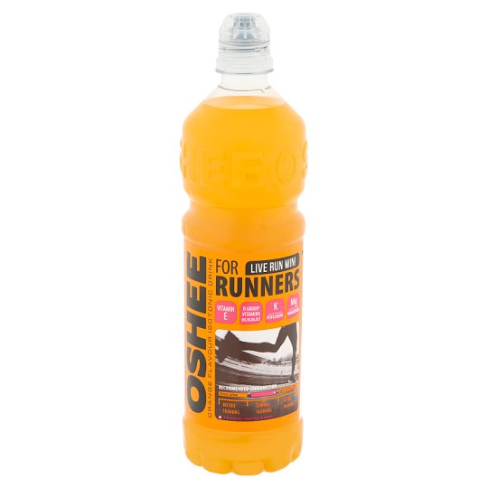 Oshee Non-Carbonated Orange Flavoured Beverage with Addition of Vitamins 0,75 l