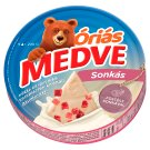 Medve Spreadable Processed Semi-Fat Cheese with Ham 6 pcs 200 g
