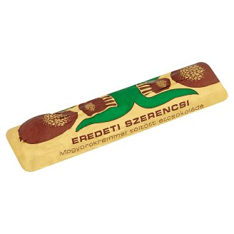 Szerencsi Retró Dark Chocolate with Hazelnut Cream Filling 38 g