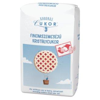 Koronás Cukor Premium Fine-Grained Granulated Sugar 1 kg