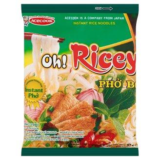 Oh! Ricey marhahús ízű rizstésztás leves 62 g