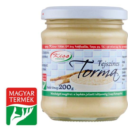 Kiss Torma Horseradish with Cream 200 g