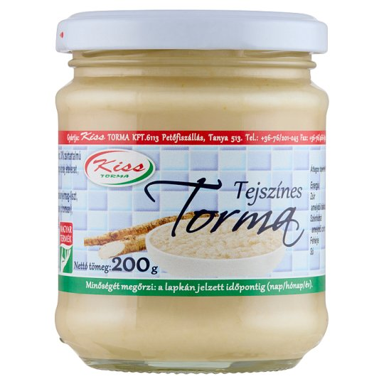 Kiss Torma tejszínes torma 200 g