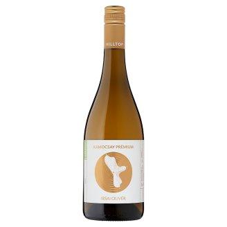 Hilltop Prémium Neszmélyi Irsai Olivér száraz fehérbor 10,5% 75 cl