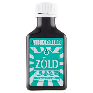 Szilas Max Color Green Food Colouring 30 ml