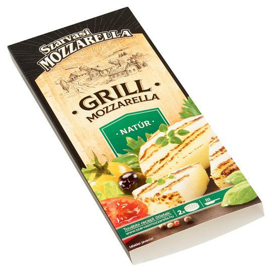 Szarvasi Mozzarella natúr grill mozzarella 2 db 150 g