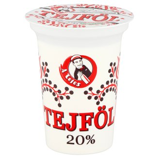 A Tejes Sour Cream 20% 330 g