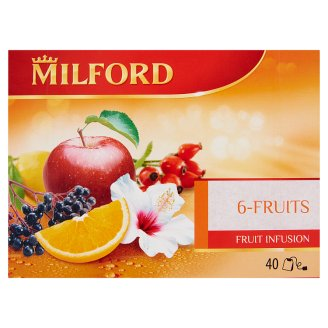 Milford 6 Fruit Tea 40 Tea Bags 100 g