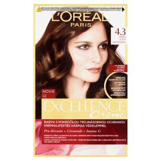 L'Oréal Paris Excellence Creme 4.3 Aranybarna tartós krémhajfesték