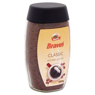 Bravos Classic azonnal oldódó kávé granulátum 200 g